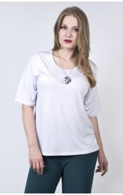"""Блуза """"Классик"""" (белый)"""