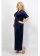 Платье Фаина (тёмно-синий)