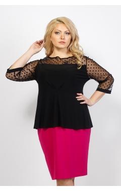 Блуза Баска (чёрный)