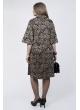 Платье Беатрис (черный узор)