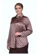 Блуза Горох (горох/розовый)