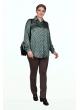 Блуза Горох (горох/зелёный)