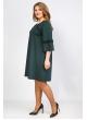 Платье Богема (зелёный)