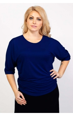 Блуза Базовая (тёмно-синий)