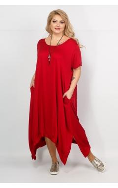 Платье Бродвей (бордо)