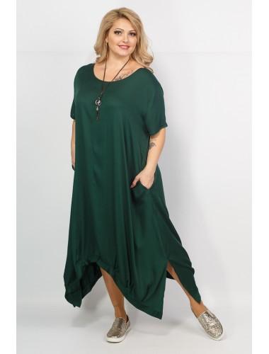 Платье Бродвей (тёмно-зеленый)