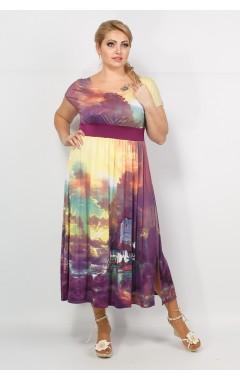 Платье Хлоя (принт фото)