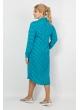 Платье Дейзи (горох/голубой)