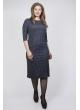 Платье Диор (сине-серый)