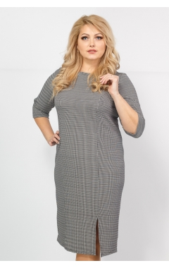 Платье Диор (чёрно-серый)