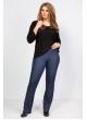 брюки Дженни шоп (тёмно-синий)