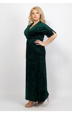 Платье Фаина (тёмно-зелёный)