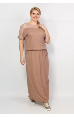 Платье Глория (капучино)