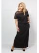 Платье Глория Блеск (чёрный)