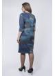 Платье Гретта (синий)