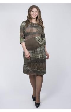 Платье Гретта (зелёный)