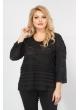 Блуза Криста (черный)