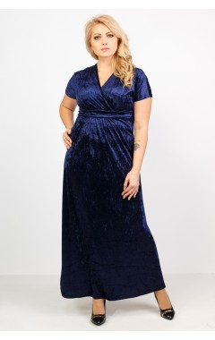 Платье Ким (тёмно-синий)