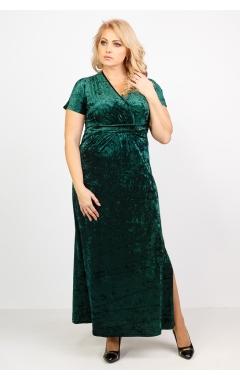 Платье Ким (тёмно-зелёный)