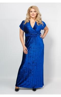 Платье Ким Плиссе (электрик)