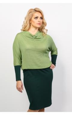 платье Кира (зелёный)