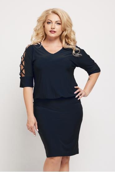 платье Коктейльное (чёрный)