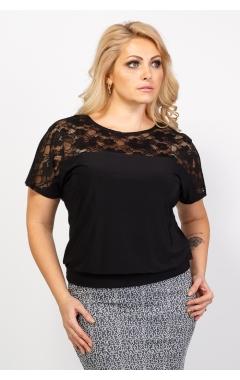Блуза Кружево (черный)