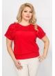 Блуза Кружево (красный)