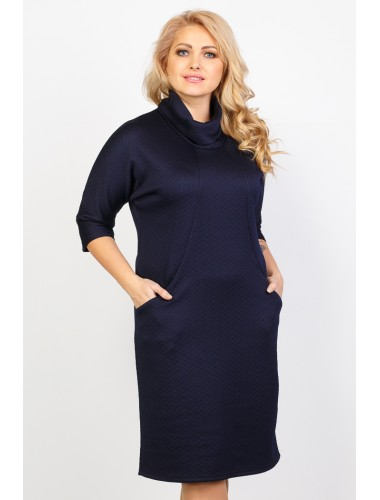 "Платье ""Лада"" (тёмно-синий)"