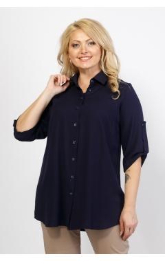 Блуза Лера (тёмно-синий)