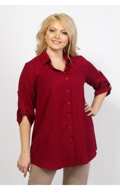 Блуза Лера (бордо)