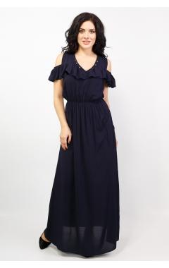 Платье Лейла (тёмно-синий)
