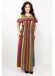 платье Лейла (цветная полоска)