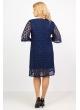 Платье Лиана (тёмно-синий)