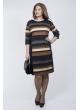 Платье Линда (тёмно-синий)