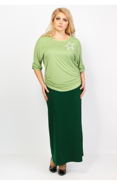 блуза Оксана (фисташка)