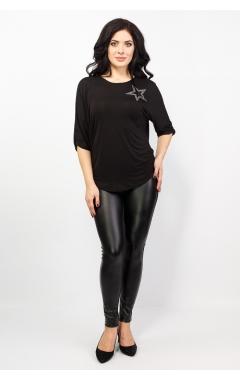 Блуза Оксана (чёрный)