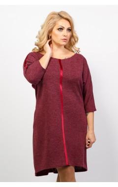 Платье Остин (бордо)