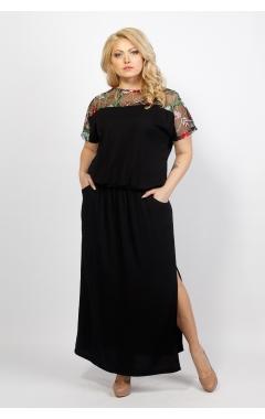 Платье Сакура (чёрный)