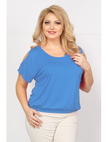 Блуза Пляж (голубой)