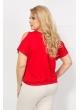 Блуза Пляж (красный)