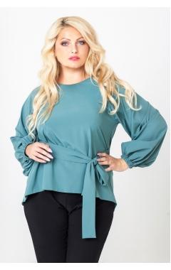 блуза Регина (изумрудный)