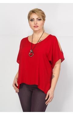 Блуза Рокси (бордо)