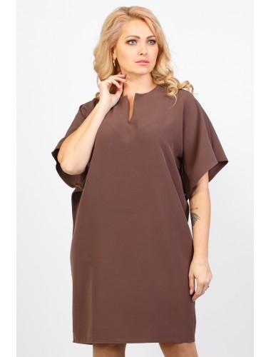 "Платье ""Селин"" (коричневый)"