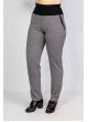 брюки Слим Шоп (серый/гусиная лапка)