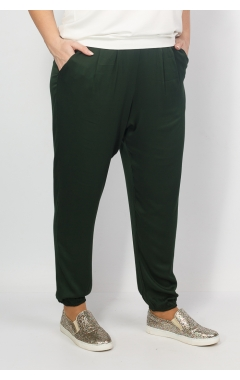 Брюки Сохо (темно зеленый)