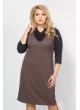 Платье Тея (серый)