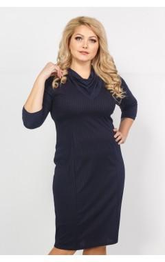 Платье Тея (синий темный)