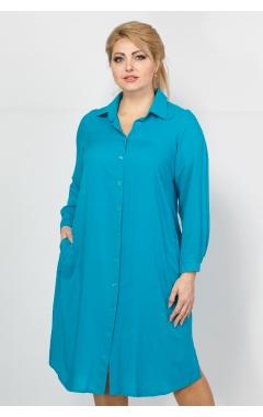 Платье Техас (бирюза)