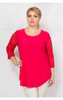 Туника Гипюр (розовый)
